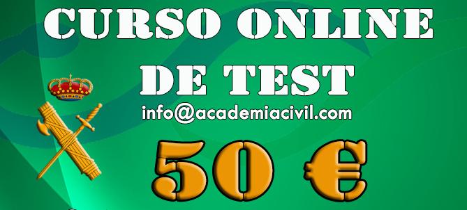Curso Online de Test – 50 € (hasta el examen)
