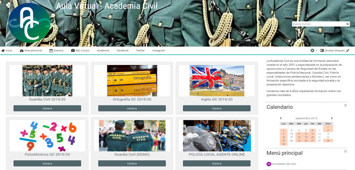 Guardia Civil Online 2019/20
