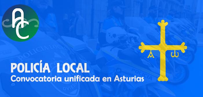 Convocatoria unificada en Asturias para cubrir 80 plazas de Policía Local