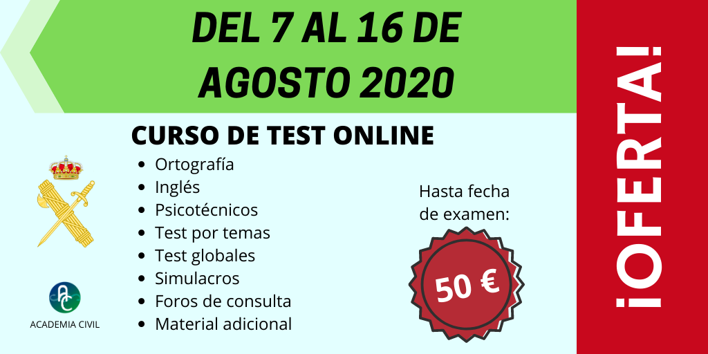 Curso Online de test – OFERTA SEMANA GRANDE! (50€)