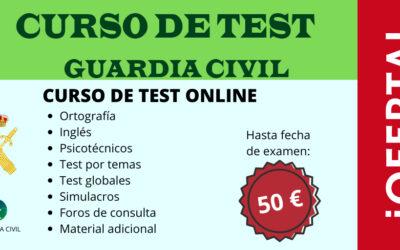 Curso Online de test – conocimientos, ortografía, psicotécnicos, inglés (50€)