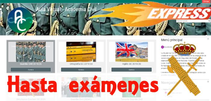 Curso Online de test Guardia Civil. Conocimientos + Ortografía + Psicotécnicos + Inglés (hasta exámenes)