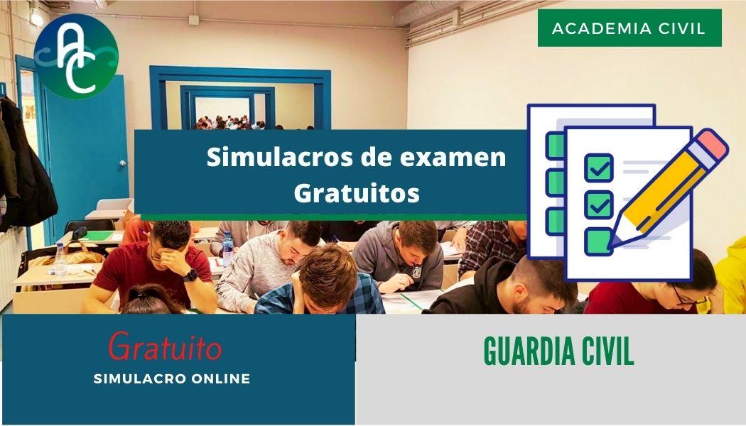 Simulacro gratuito de examen para ingreso a GC 2021 (viernes 30/07 – domingo 01/08)